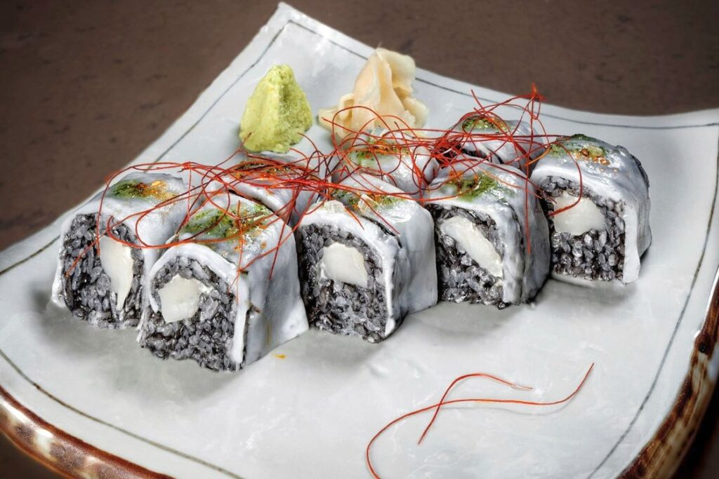 Ika Maki de 99 sushi bar en Ponzano