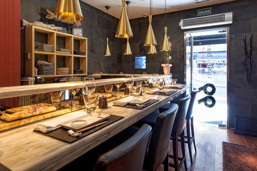 99 Sushi Bar Ponzano - Barra